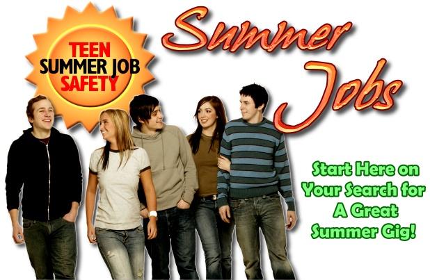 Jobs for Teens summer jobs