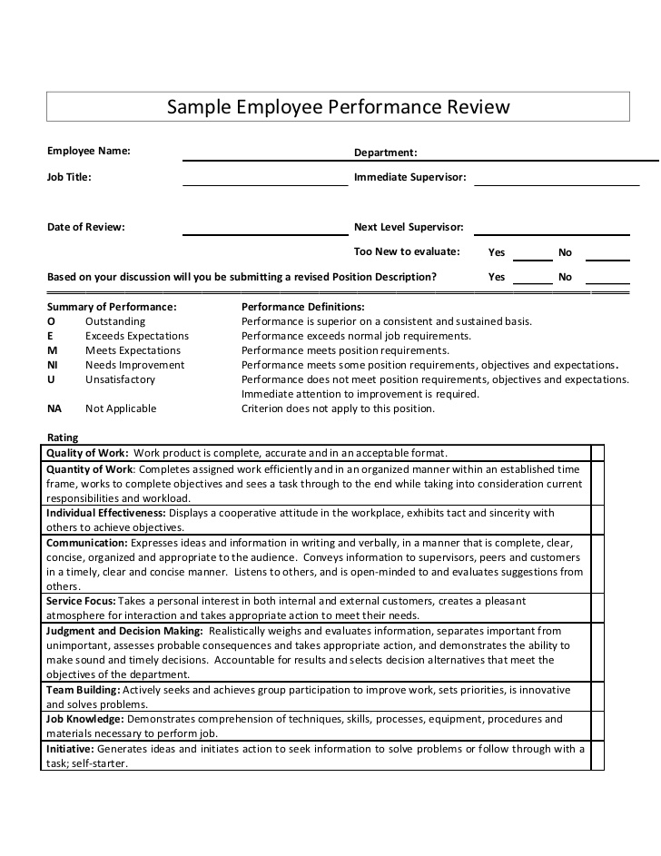 tips for writing performance reviews