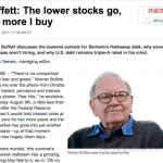 Warren buffett investing strategy