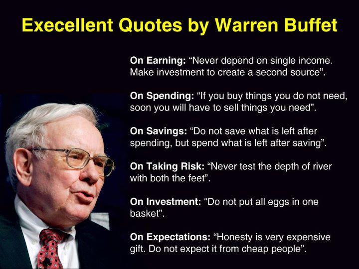 Warren Buffett strategy